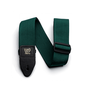 Forest Green Polypro Guitar Strap Thumb