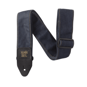Ernie Ball Denim Guitar Strap - Indigo Rinse Thumb