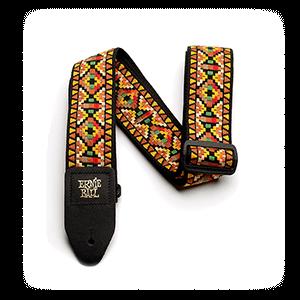 Santa Fe Jacquard Guitar Strap Thumb