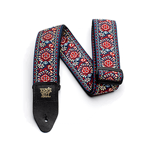 Royal Bloom Jacquard Gitarrengurt Thumb
