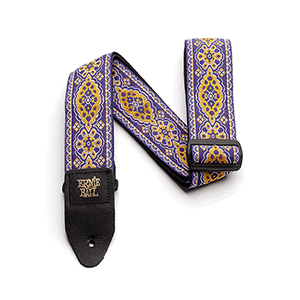 Purple Sunset Jacquard Guitar Strap Thumb