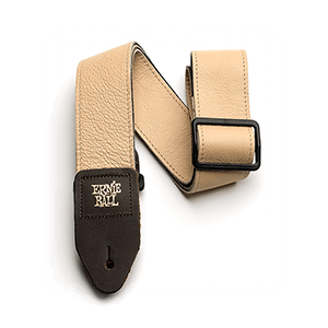 "2"" Tri-Glide Italian Leather Strap - Tan Thumb"