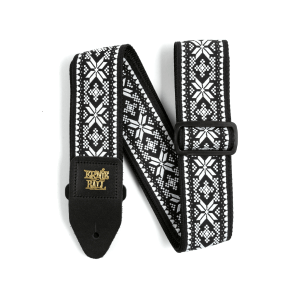Ernie Ball Midnight Blizzard Jacquard Strap Thumb