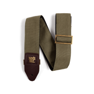 Ernie Ball Olive Canvas Strap Thumb