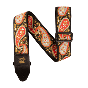 Ernie Ball Midnight Paisley Jacquard Strap Thumb
