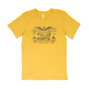 T-shirts Jaune Original Slinky Maize