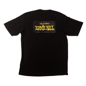 Ernie Ball CA License Plate T-shirts