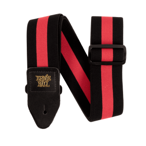 Ernie Ball Stretch Comfort Racer Red Strap Thumb