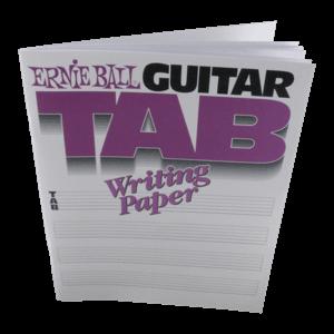 Papier à écrire pour tablature de guitare Thumb