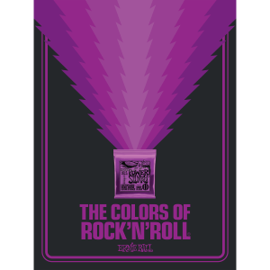 The Colors of Rock'N'Roll Power Slinky Poster Thumb