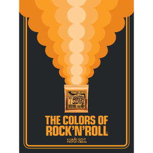 The Colors of Rock'N'Roll Hybrid Slinky Poster Thumb