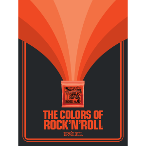 The Colors of Rock'N'Roll Skinny Top Heavy Bottom Slinky Poster Thumb