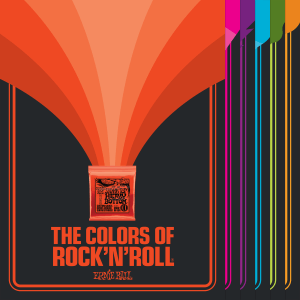 Colors of Rock n' Roll Posters
