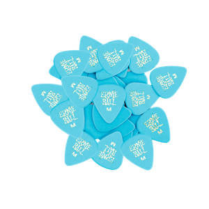 Medium Blue Cellulose Picks, bag of 144 Thumb