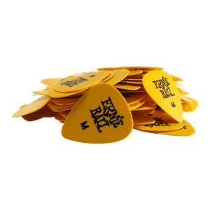 Medium Yellow Cellulose Picks, bag of 144 Thumb