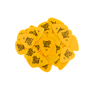 Heavy Yellow Cellulose Picks, bag of 144 Thumb