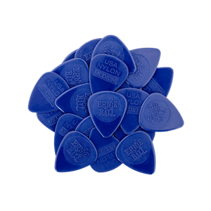 Medium Injection Molded Nylon Picks 0.72mm bag of 50 Thumb