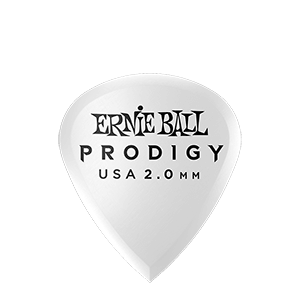 2.0mm White Mini Prodigy Picks 6-Pack Thumb