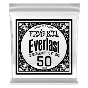 .050 Everlast Coated Phosphor Bronze Acoustic Guitar String Thumb