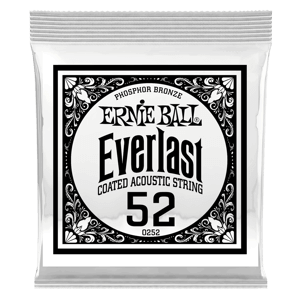 .052 Everlast Coated Phosphor Bronze Acoustic Guitar String Thumb