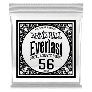 .056 Everlast Coated Phosphor Bronze Acoustic Guitar String Thumb