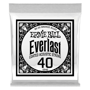 .040 Everlast Coated 80/20 Bronze Acoustic Guitar String Thumb