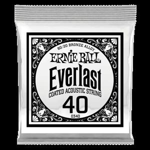 .040 Everlast 镀膜黄铜木吉他琴弦6 支装 Thumb