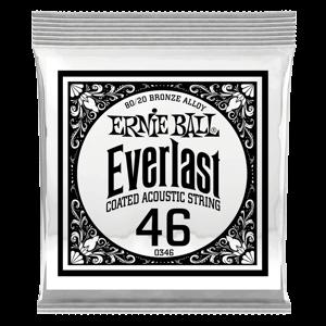 .046 Everlast 镀膜黄铜木吉他琴弦6 支装 Thumb