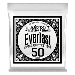 .050 Everlast Coated 80/20 Bronze Acoustic Guitar String Thumb
