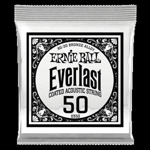 .050 Everlast 镀膜黄铜木吉他琴弦6 支装 Thumb