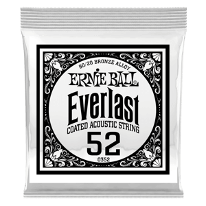.052 Everlast Coated 80/20 Bronze Acoustic Guitar String Thumb