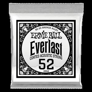 .052 Everlast 镀膜黄铜木吉他琴弦6 支装 Thumb