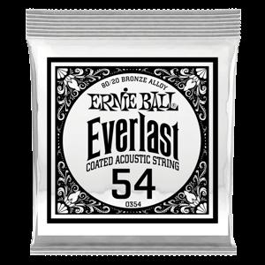 .054 Everlast 镀膜 80/20 黄铜木吉他单弦6支装 Thumb