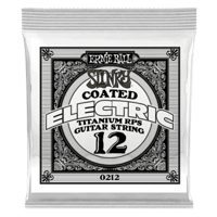.012 Slinky Coated Titanium Reinforced Plain Electric Guitar String Thumb