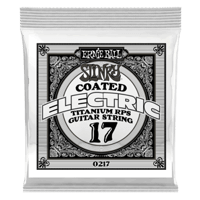 .017 Slinky Coated Titanium Reinforced Plain Electric Guitar Strings 6 Pack Thumb