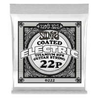 .022 Slinky Coated Titanium Reinforced Plain Electric Guitar Strings 6 Pack Thumb