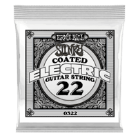 .022  Cuerda guitarra eléctrica Slinky Coated Nickel entorchada. Pack de 6 Thumb