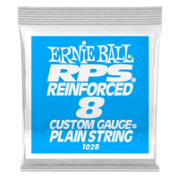 .008 RPS Reinforced Plain Electric Guitar Strings 6 Pack Thumb