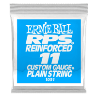 .011 RPS Reinforced Plain Electric Guitar Strings 6 Pack Thumb