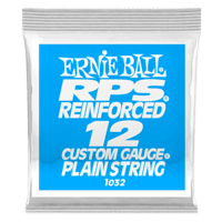 .012 RPS Reinforced Plain Electric Guitar Strings 6 Pack Thumb