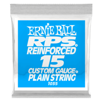 .015 RPS Reinforced Plain Electric Guitar Strings 6 Pack Thumb