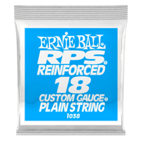 .018 RPS Reinforced Plain Electric Guitar Strings 6 Pack Thumb