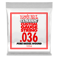 Paquet de 6 cordes .036 Classic Pure Nickel Wound Electric  Thumb