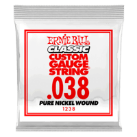 .038 Classic Pure Nickel Wound E-Gitarrensaite 6er Pack Thumb