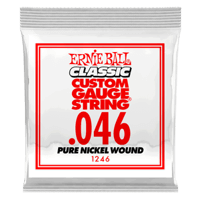 Paquet de 6 cordes .046 Classic Pure Nickel Wound Electric   Thumb
