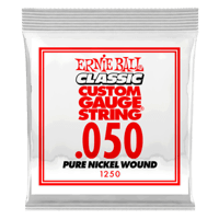 .050 Classic Pure Nickel Wound Electric Guitar Strings 6 Pack Thumb
