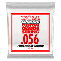 Paquet de 6 cordes .056 Classic Pure Nickel Wound Electric   Thumb