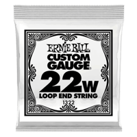 .022 Loop End Stainless Steel Wound Banjo or Mandolin Guitar Strings 6 Pack Thumb