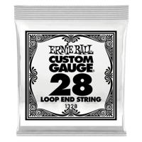 .028 Loop End Stainless Steel Wound Banjo or Mandolin Guitar Strings 6 Pack Thumb