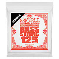 .125 Nickel Wound Electric Bass String Single Thumb
